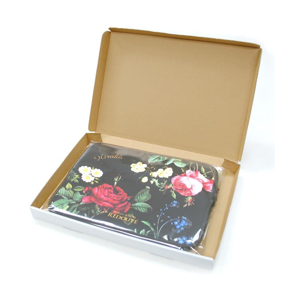 ディアカーズ 名入れタブレットポーチ ルドゥーテ コレクション 化粧箱に入れてお届け。プレゼントとしてもおすすめです。