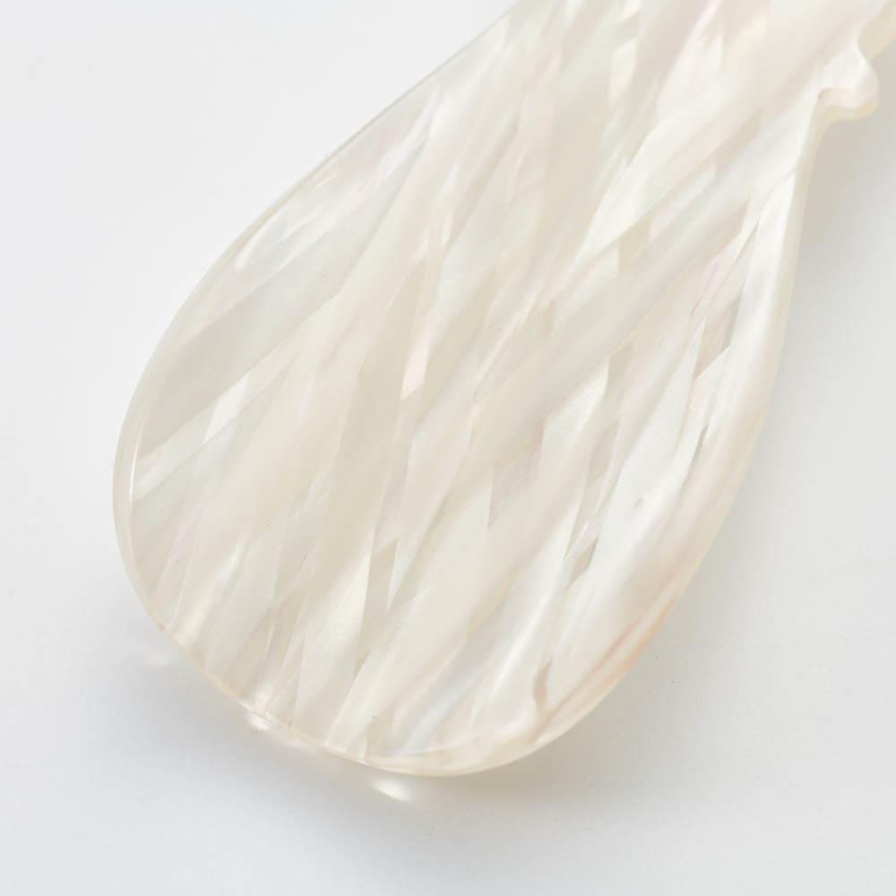 KISSO/キッソオ 靴ベラキーホルダー ホワイト