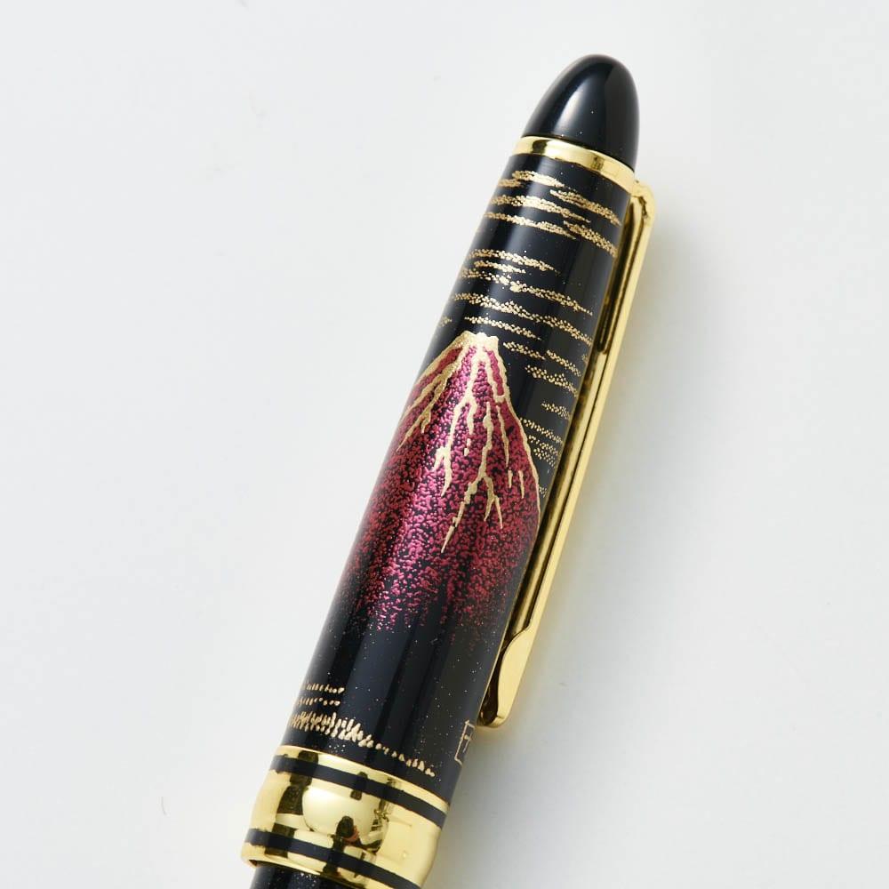 蒔絵ボールペン (イ)赤富士