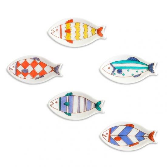 ハレクタニ 魚箸置き5個セット 5個セットでお届けです。