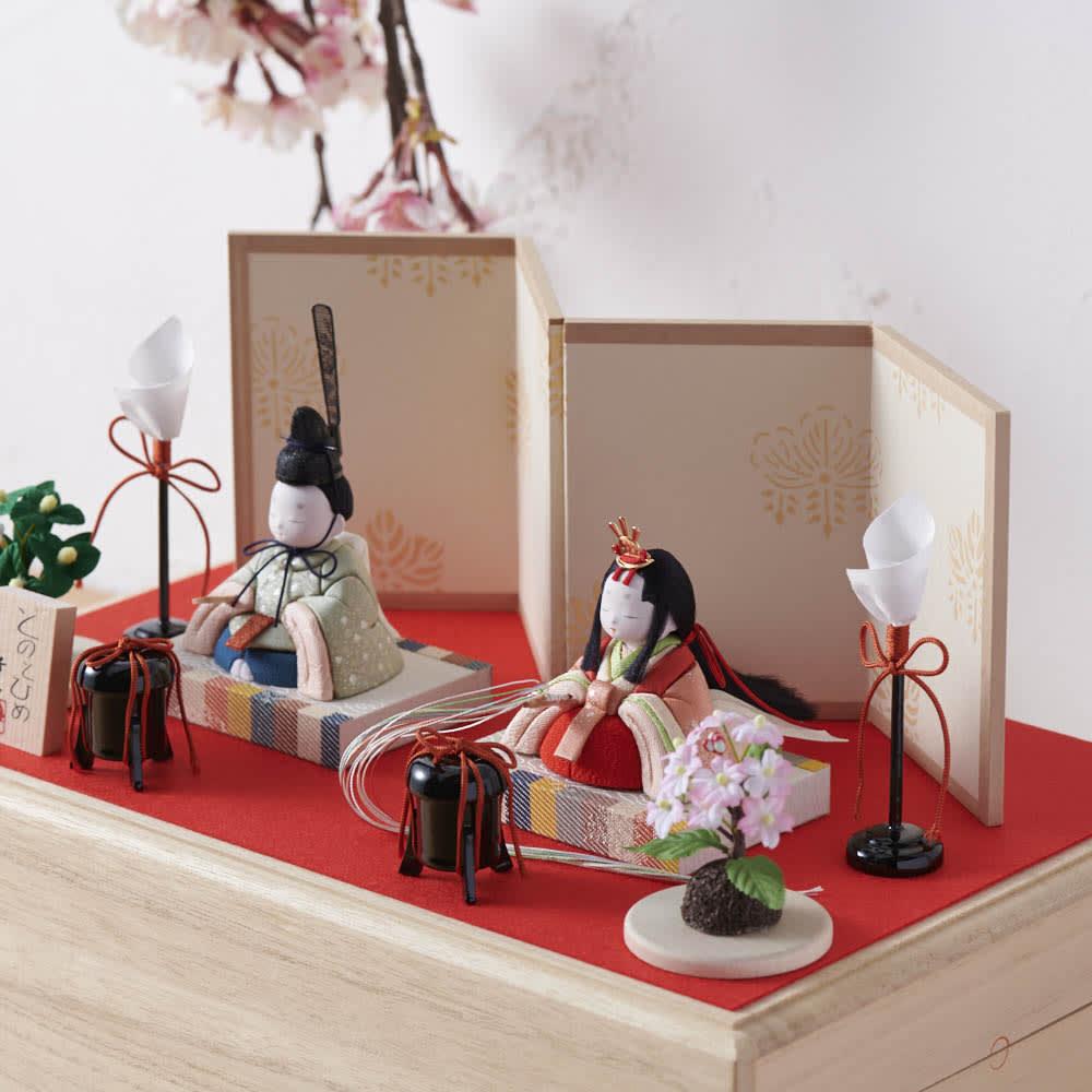 桐箱入とのとひめ 雛人形