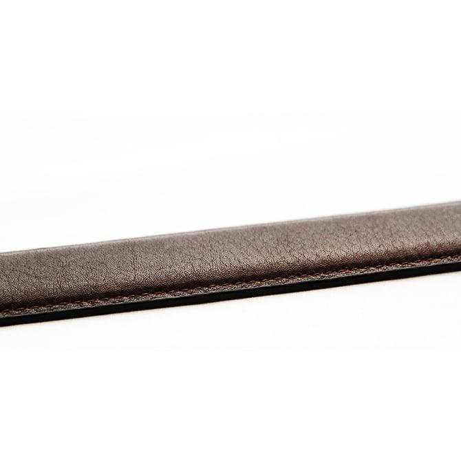 KNOT/ノット メンズ フレンチレザーベルト ふっくらとした高級感のある仕上げ