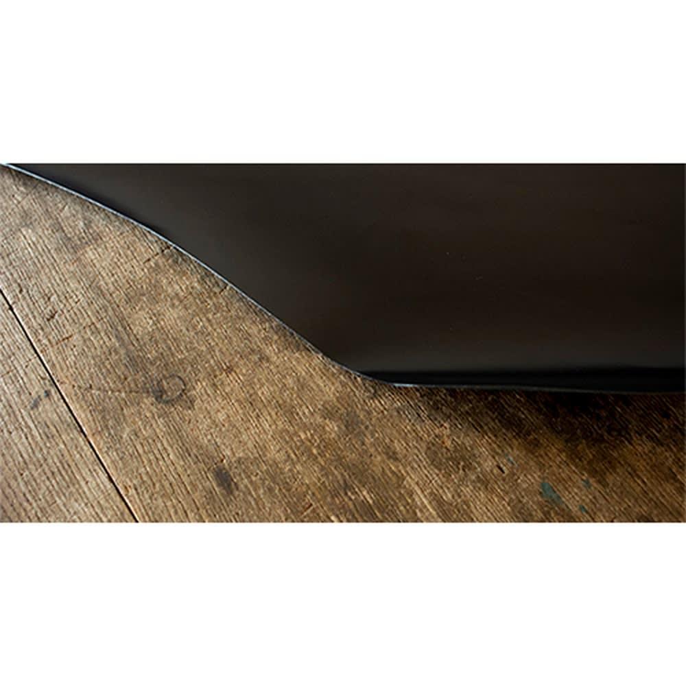 KNOT/ノット メンズ イタリアンレザー光沢ベルト こだわりのイタリアレザーを使用。