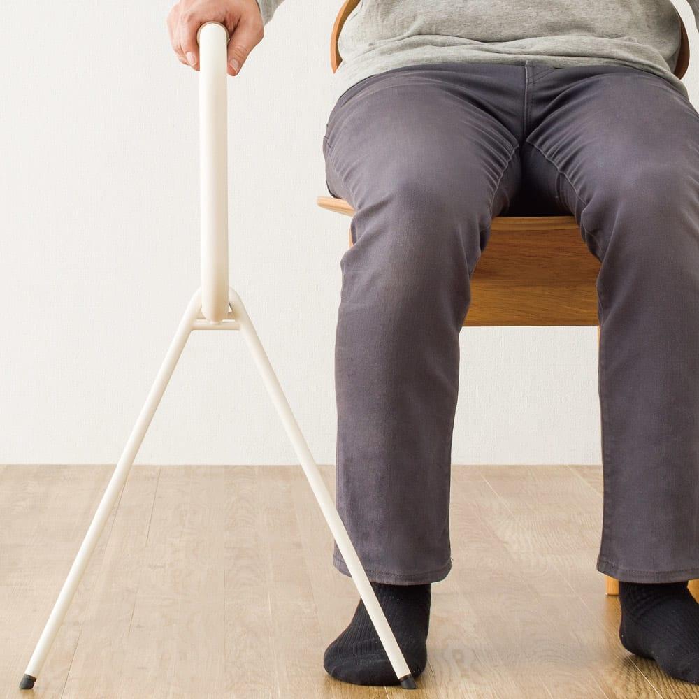 LOHATES/ロハテス 立ち上がり補助手すり 椅子から立ち上げる時にあると安心。