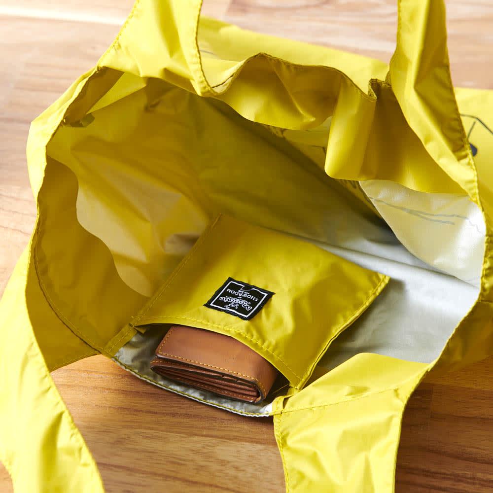 ムーミン 大容量!畳めるエコバッグ