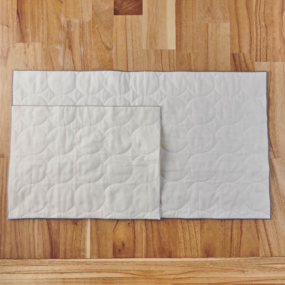 パシーマ(R)たっぷり水吸いサラリと乾く!キッチンふきん(M2枚・L1枚/ギフトボックス入りプレミアムセット) M…幅40×奥行30cm、L…幅70×40cm Mサイズは食器拭き、Lサイズはお鍋ふきやキッチンタオルとしても使いやすいサイズ。
