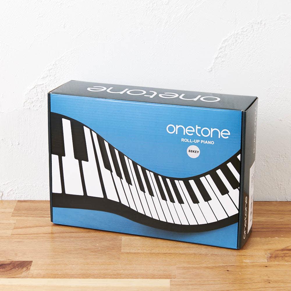 ロールアップピアノ おしゃれなボックスでプレゼントにも。