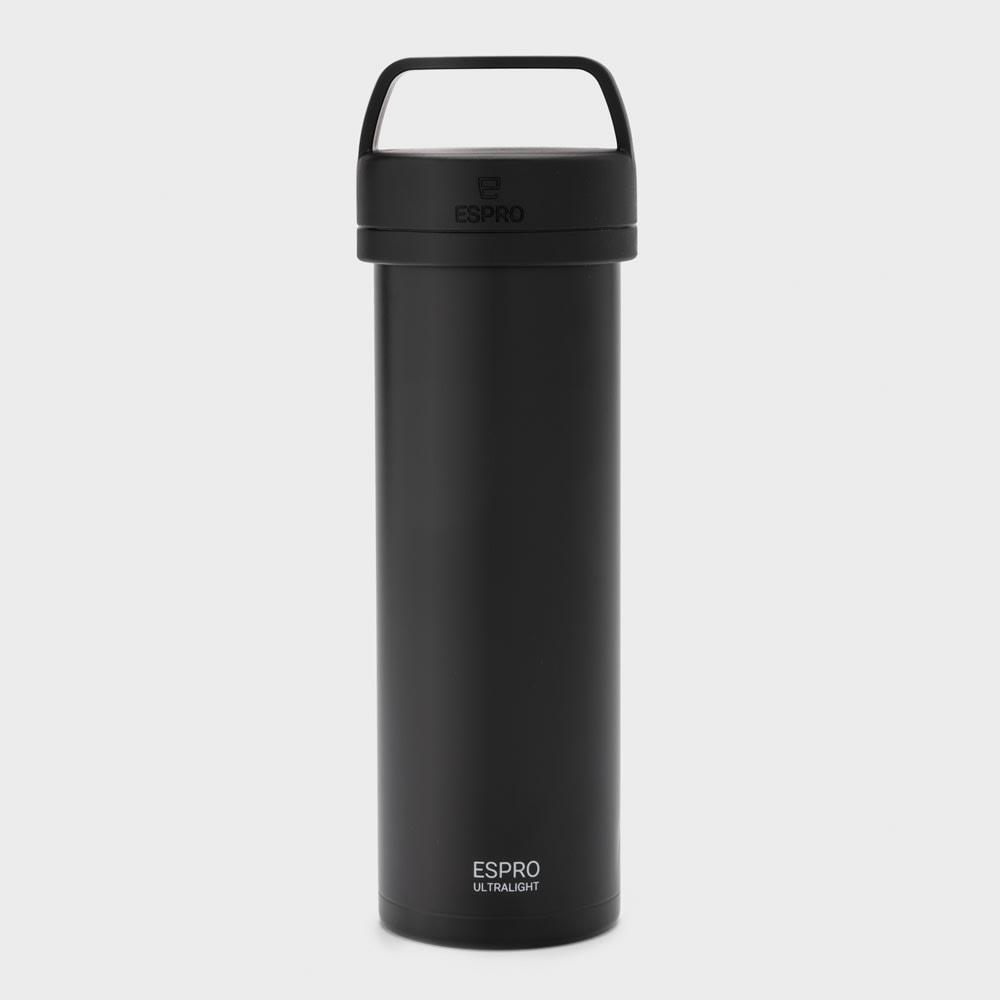 ウルトラライトコーヒープレスボトル (ア)ブラック