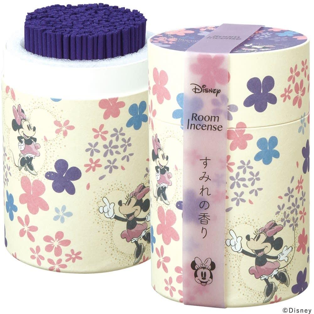 ディズニー ルームインセンス  <ミニーマウス>すみれの香り(フローラルにグリーンノートを少しきかせた華やかなすみれの香り。)(ア)ミッキー&ミニー ※2個セットです