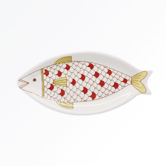 ハレクタニ 魚皿 【選べる2枚組】 (ア)黄
