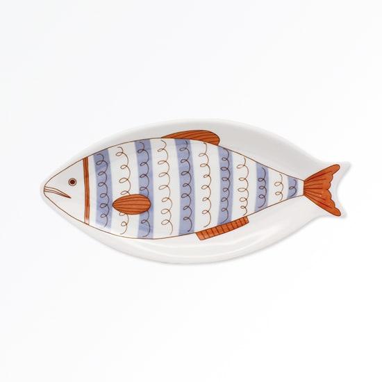 ハレクタニ 魚皿 【選べる2枚組】 (ウ)紫