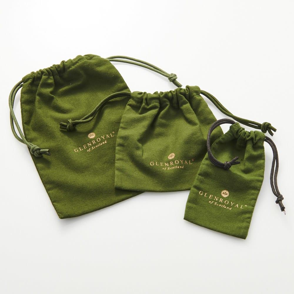 グレンロイヤル ジップミニパース 特製の巾着袋に入れてお届けします(サイズはお任せ下さい)。