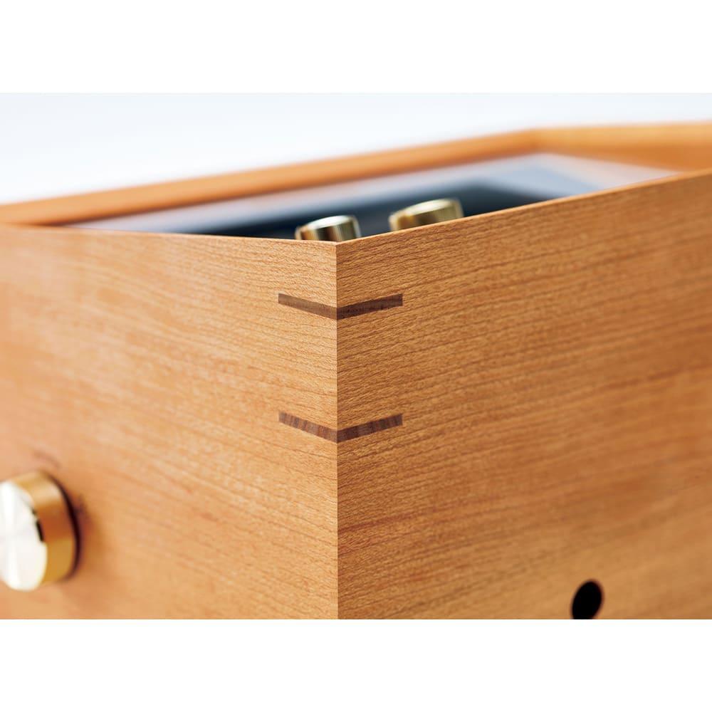 プリモトーン SAKURA MODEL 釘を使わないこだわりの「木組み」作り