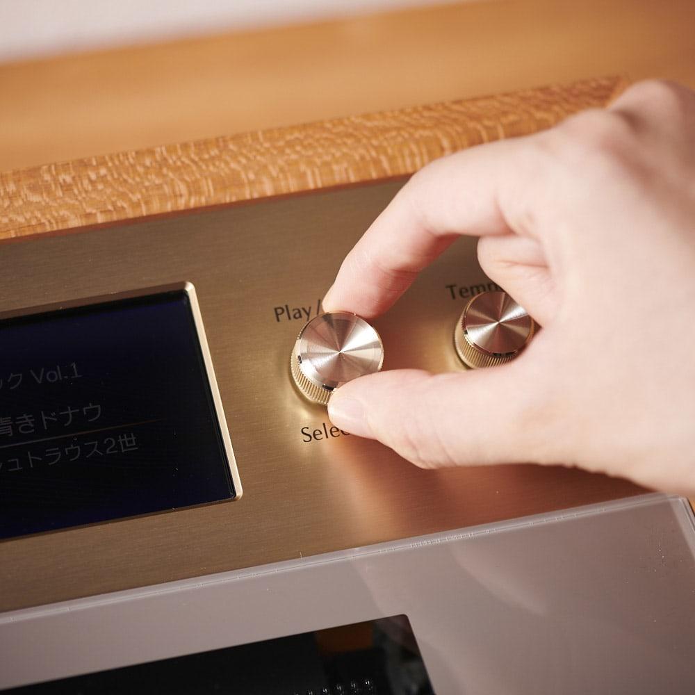 プリモトーン SAKURA MODEL プレイボタンで簡単操作
