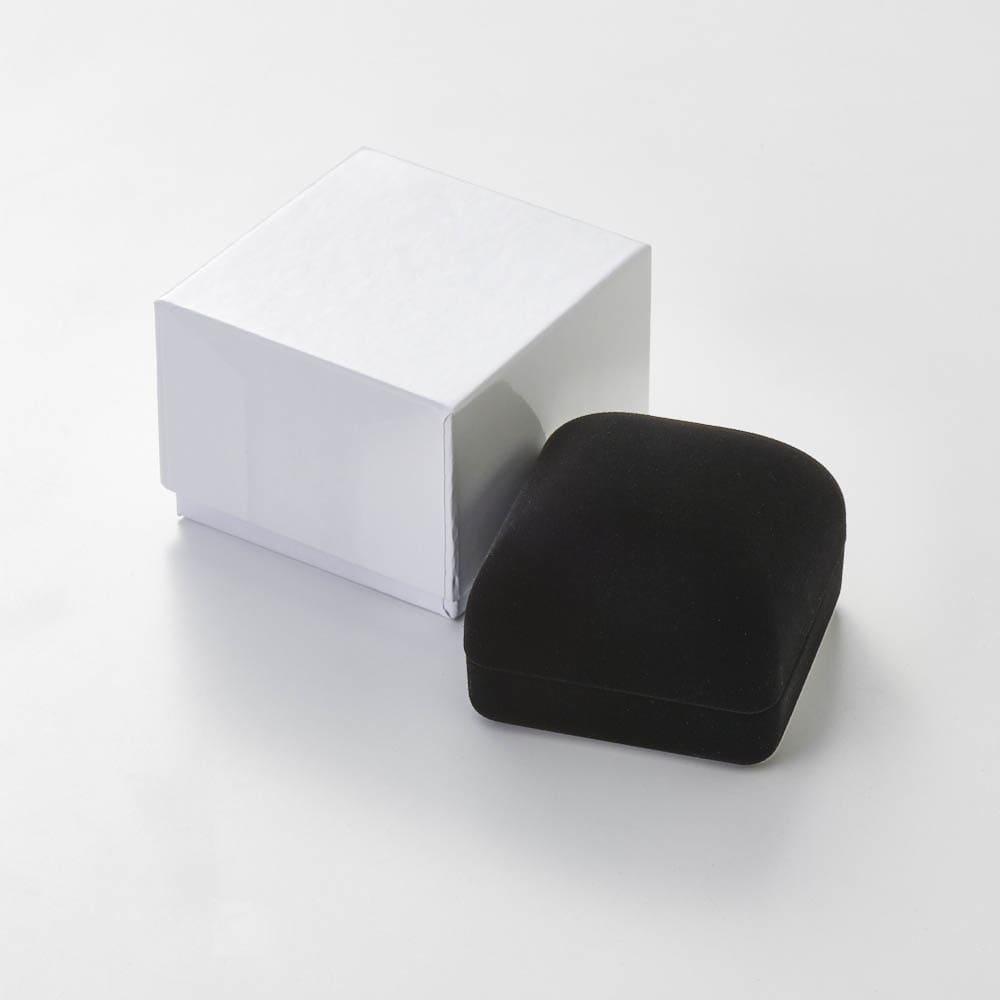 K10YG/WG コンビ リバーシブルピアリング ダイヤ柄