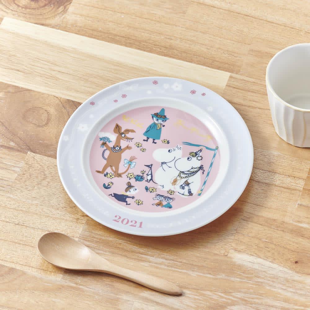 ムーミンイヤーズプレート2021 通常のお皿としてもお使いいただけます。