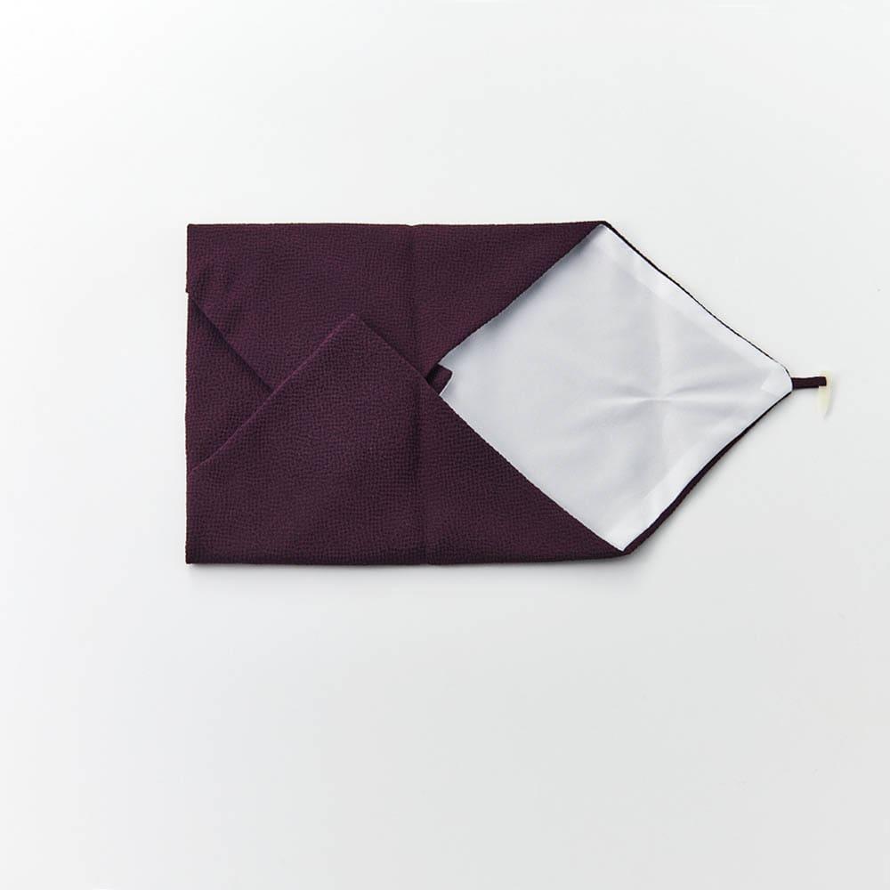 オーダー名前入れ 京都正絹ちりめん台付袱紗 ボックス入り 冠婚葬祭に長く幅広くお使いいただけます。