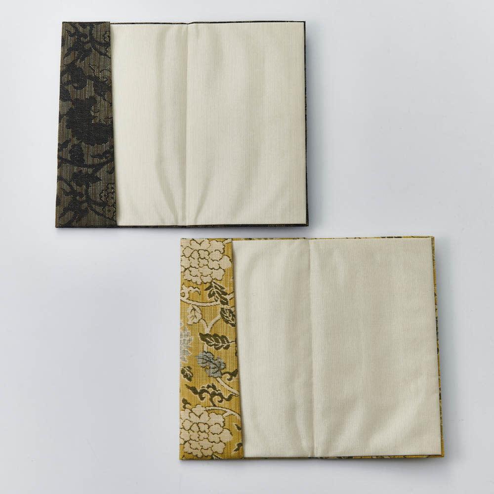 京錦金封袱紗 花唐草 ボックス入り 金封ふくさは金封をそのままいれられるお財布式のふくさです。包み方を気にすることなく、簡易に使用できます。
