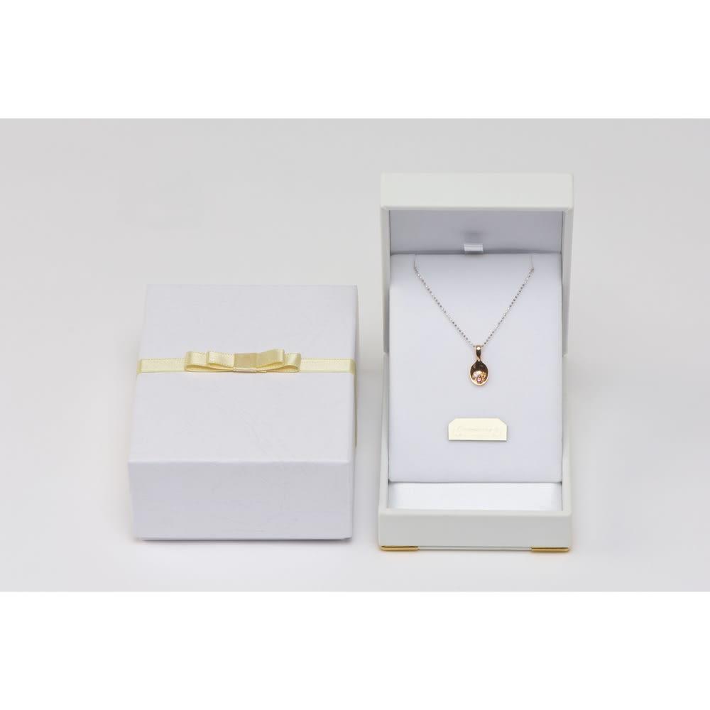 【誕生石が選べる】【オリジナルメッセージが刻める】お守りんぐハッピースプーン SV925 リボンがかわいい化粧箱に入れてお届け。