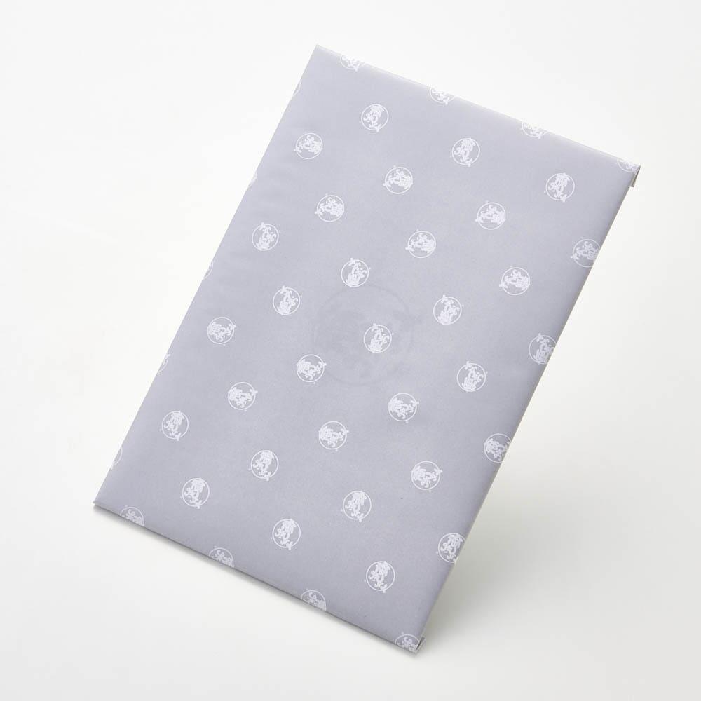 ごっつお便FCコース 包装紙 グレー(弔事用)