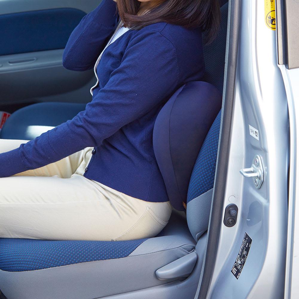 キュビーズクッション CuCuビークル 車の運転中にもおすすめです。