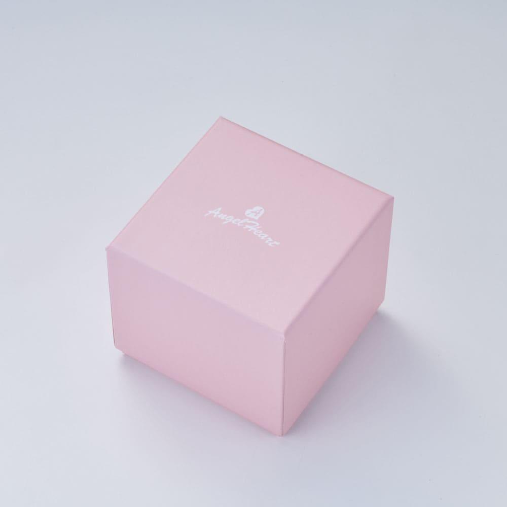 Angel Heart/エンジェルハート イノセントタイム ソーラー時計 かわいらしいピンクカラーのボックス入り。
