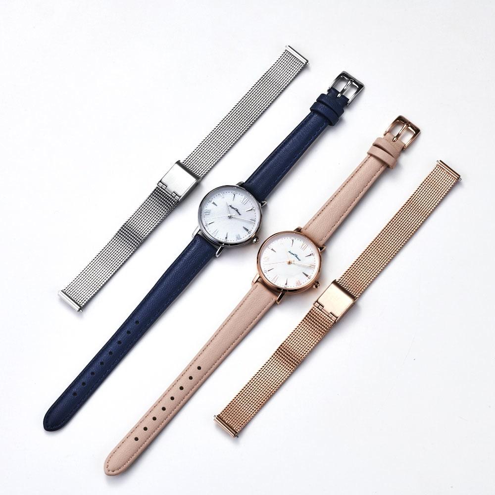 Angel Heart/エンジェルハート スパークルタイム ピンク ソーラー時計 同型でネイビーカラーのタイプもございます。(商品番号:GF1619)