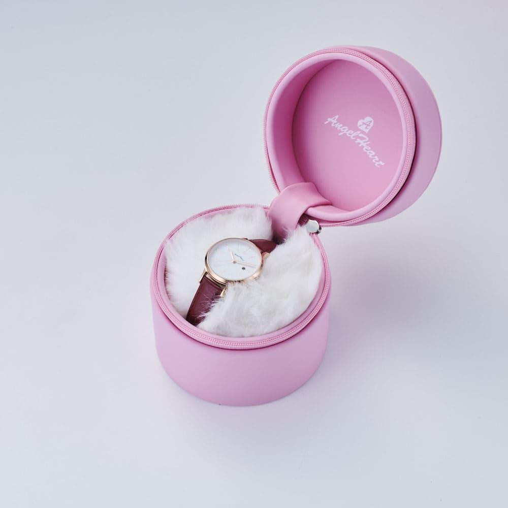 Angel Heart/エンジェルハート スパークルタイム ピンク ソーラー時計 ※写真の時計はお届けの商品とは異なります。