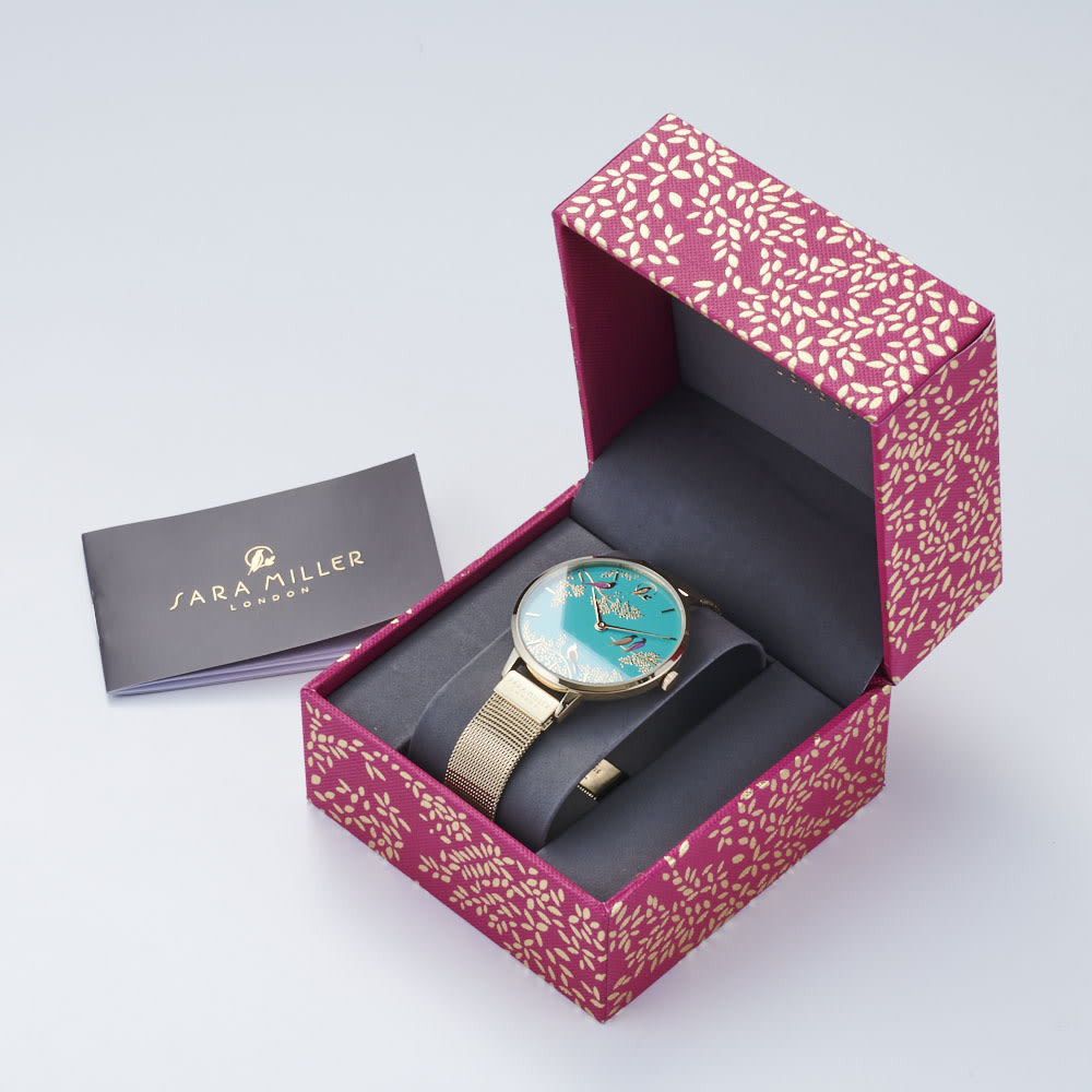 SARA MILLER LONDON/サラミラーロンドン CHELSEAコレクション レザーベルト 38mm ※写真の時計はお届けの商品とは異なります。