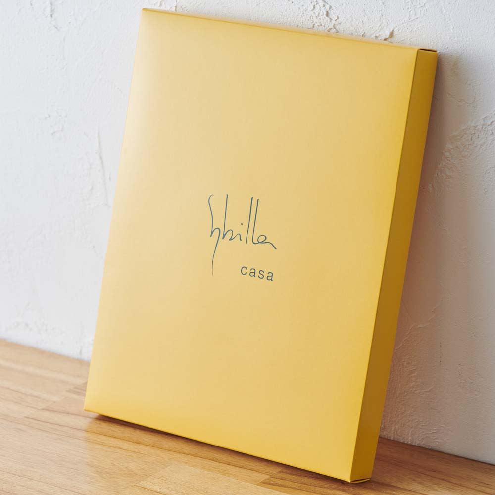 シビラ タオルドレス 箱入りでギフトにもおすすめ。