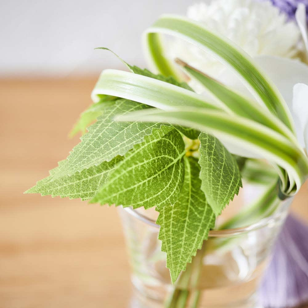 ペットご供養フルセット (ミニ仏壇&ロウソク・線香&胡蝶蘭マジックウォーターミニ供花)
