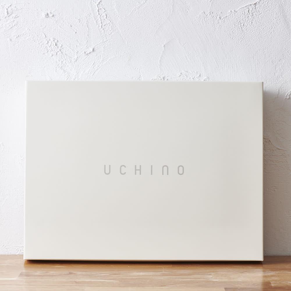 【お名前刺繍】UCHINO 奇跡のタオル®スーパーマシュマロ® スモールバスタオル2枚入り 化粧箱に入れてお届けします。