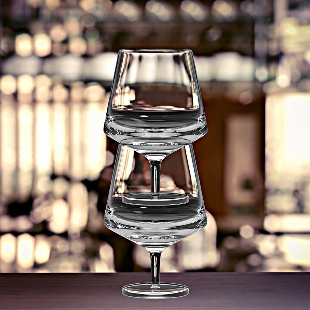 magisso/マギッソ ピノ・ワイングラス(2個組) 使用例 無鉛クリスタルガラスは傷がつきにくく丈夫で白濁が出にくいとされています。