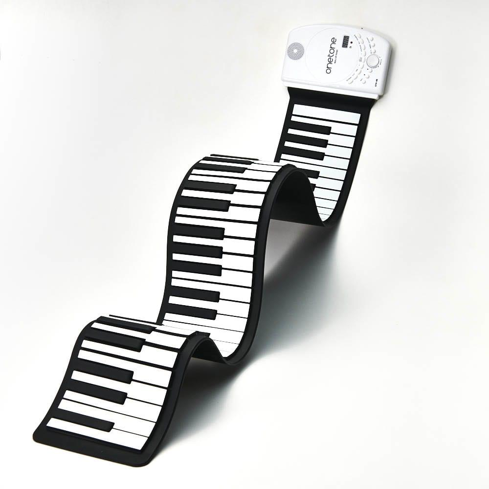ロールアップピアノ 収納・持ち運びに便利!鍵盤がクルクル巻けるロールアップピアノ♪