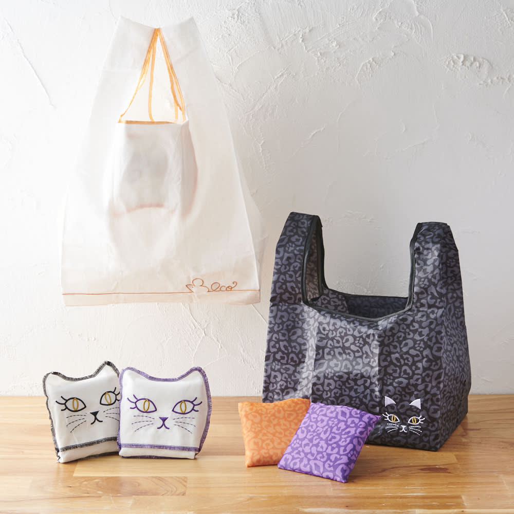 小悪魔Cat エコバッグ&オベントーバッグセット
