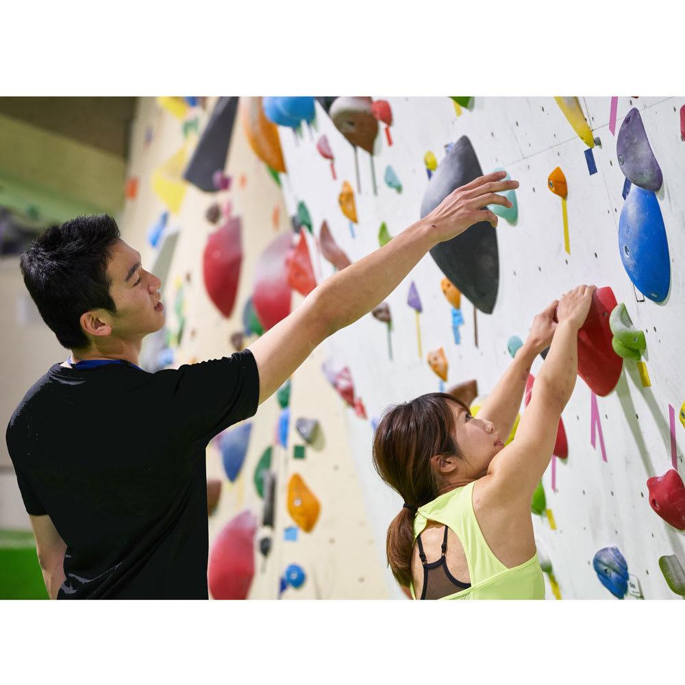 体を動かす楽しみギフト 【体験例】ボルダリング