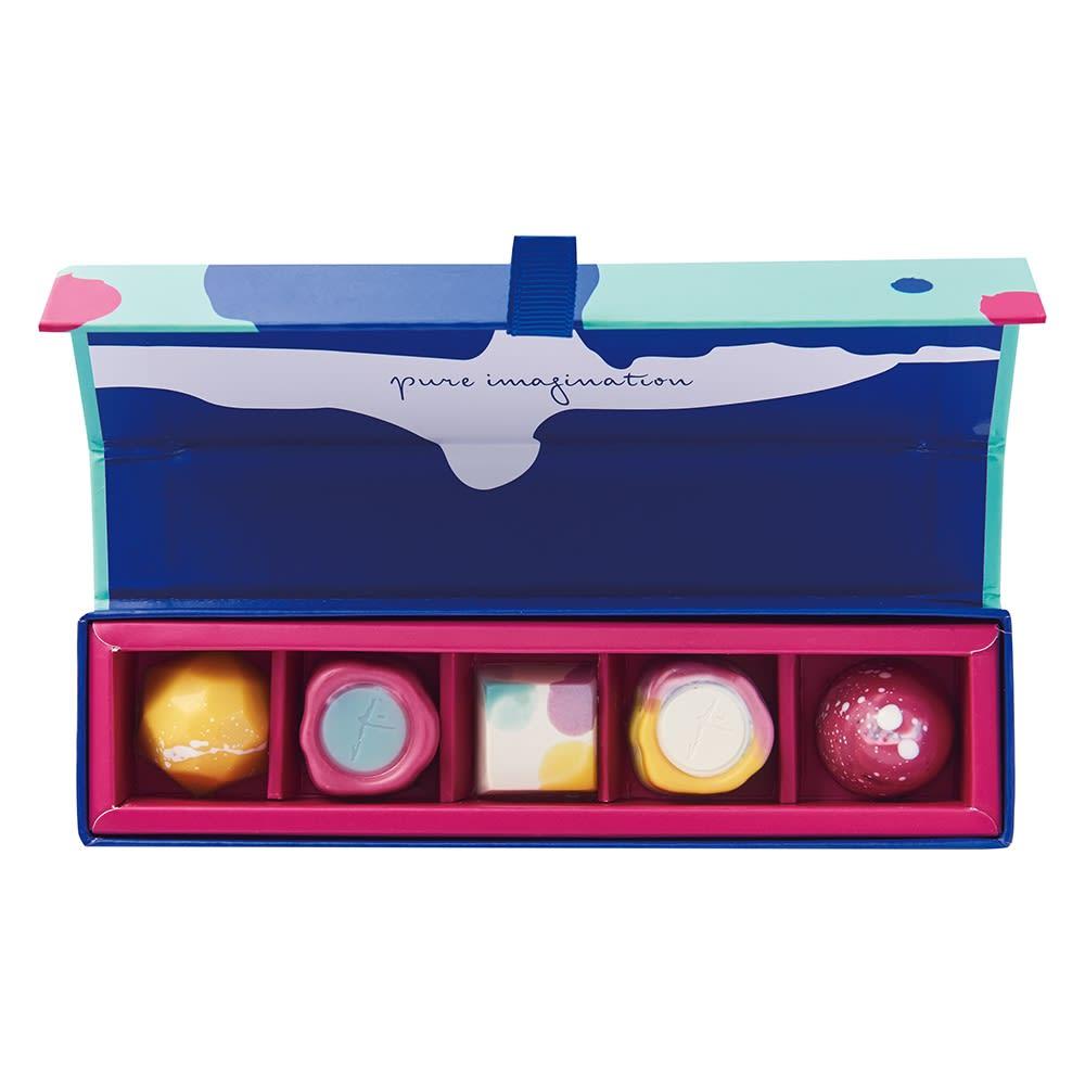 「ジャニス・ウォン」チョコレートボックス 5個 【通常お届け】 FD2607