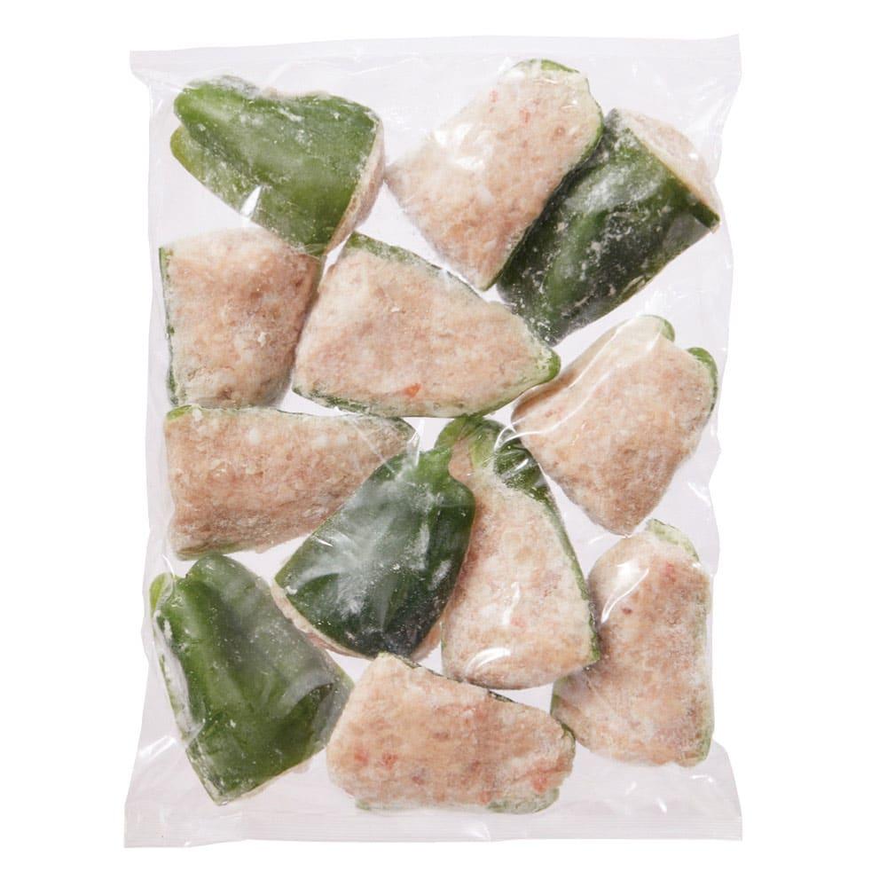 ジューシーなピーマンの肉詰め 480g(12個)x2袋 お届けパッケージ