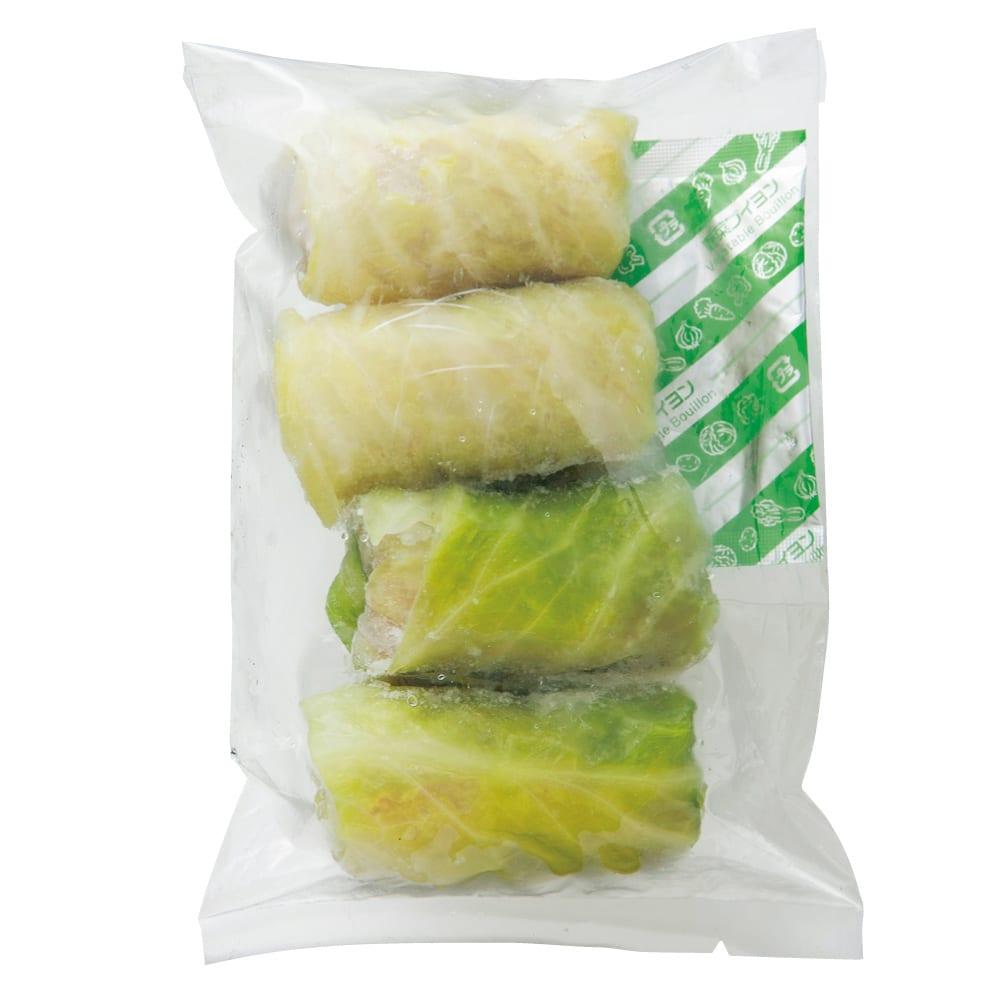新潟産三元豚のロールキャベツ 240g(4個入)x2袋 お届けパッケージ