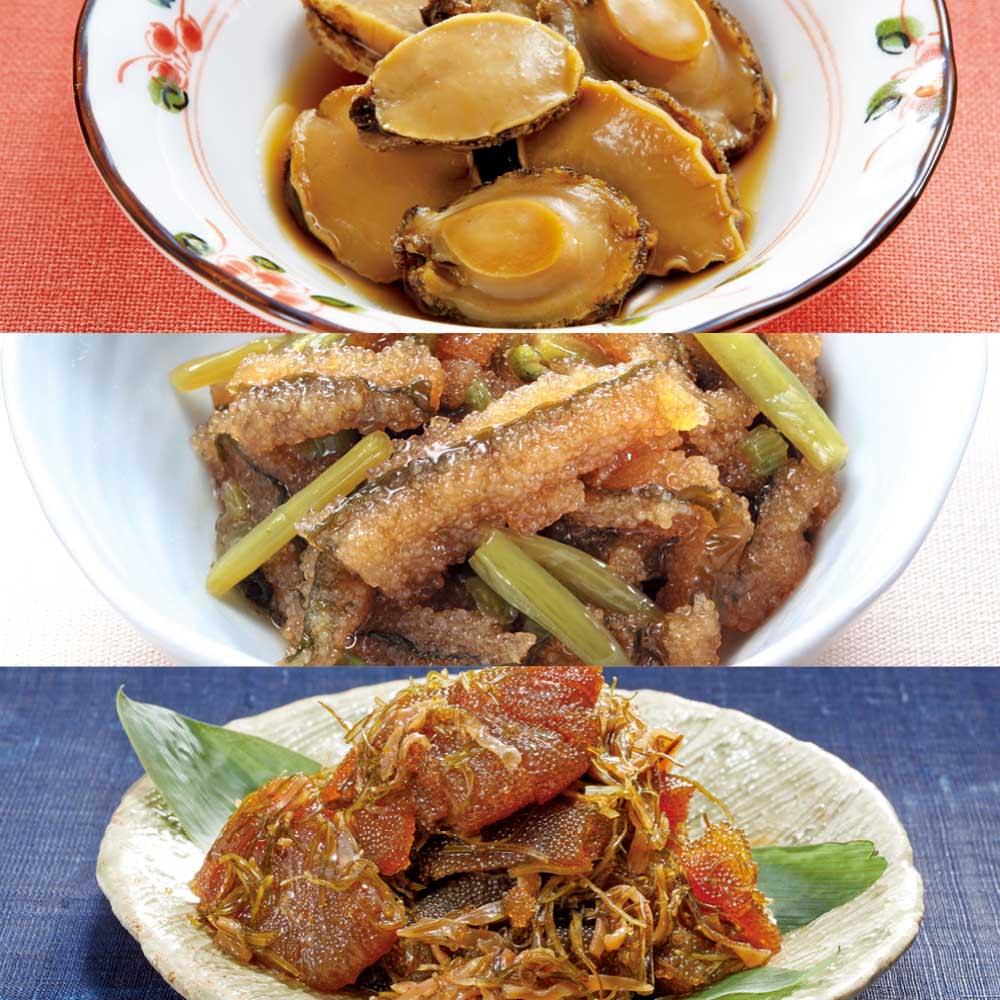 夏のお楽しみ3種セット 和惣菜
