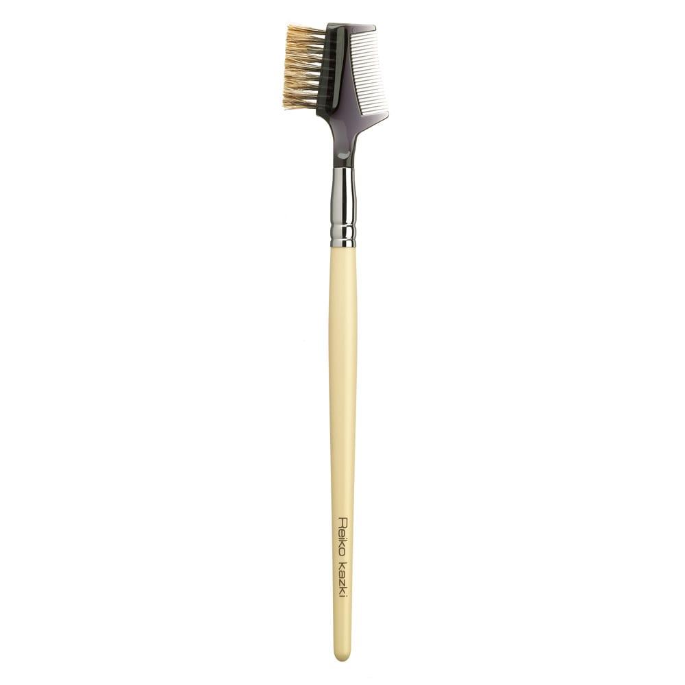 かづきれいこ ディノス限定ブラシセット 【コーム&ブラシ】約185mm [ハンドル]木 [ブラシ]馬毛