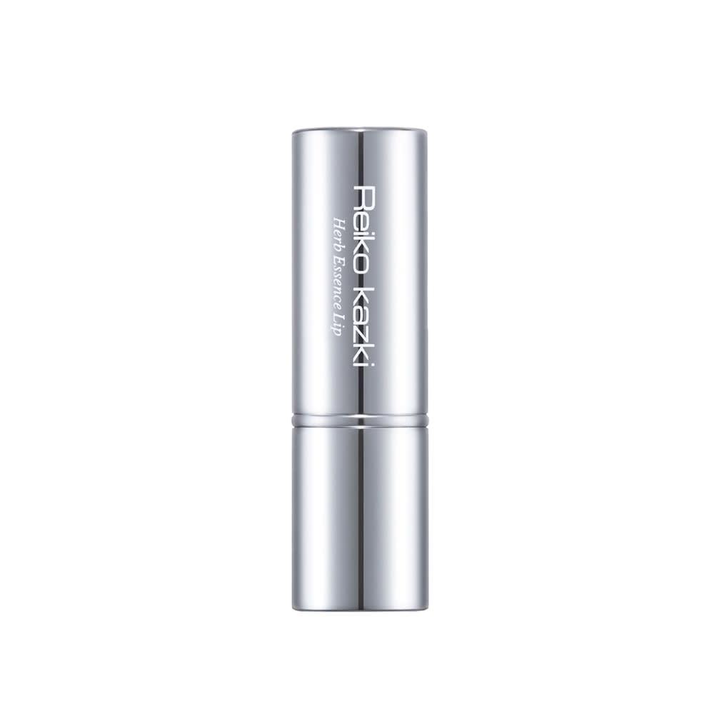 かづきれいこ ハーブエッセンスリップ 右から(ア)シャイニーブラウン、(イ)ブロッサムピンク、(ウ)アプリコットオレンジ