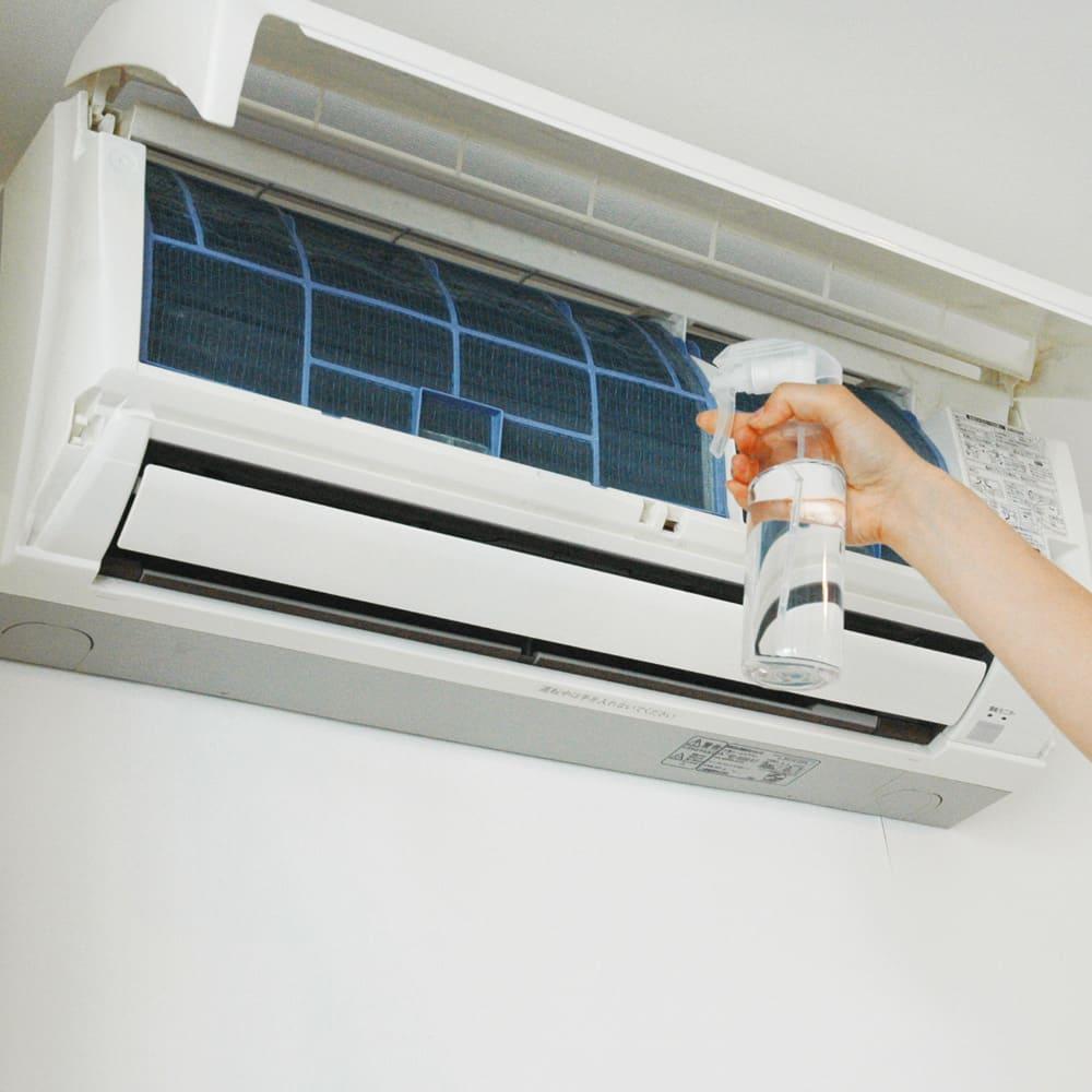 除菌消臭剤 ニューピュアマックス (ラベンダーの香り) 1L 掃除が難しいエアコンにも消臭効果!