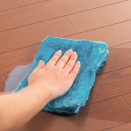 業務用ワックス「抗菌プロビュー」 お徳用4Lセット(約120畳分) 床用ワックスに抗菌効果をプラス! お得な4Lはクロス、ロート、手袋付き
