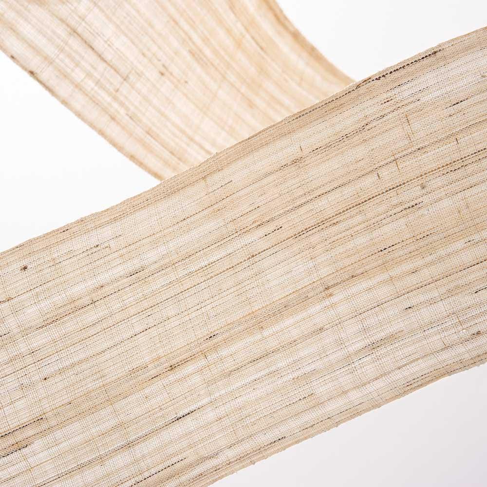 〈京都洛柿庵〉節句飾り細タペストリー 春の花 ※2点以上5%オフ 伝統技法による手染め。ナチュラルな風合いの手機織麻生地に、ていねいに染色しました。