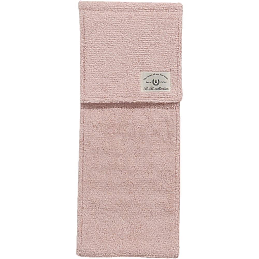 クッショニー スリッパ&ペーパーホルダーカバー2点セット ピンク