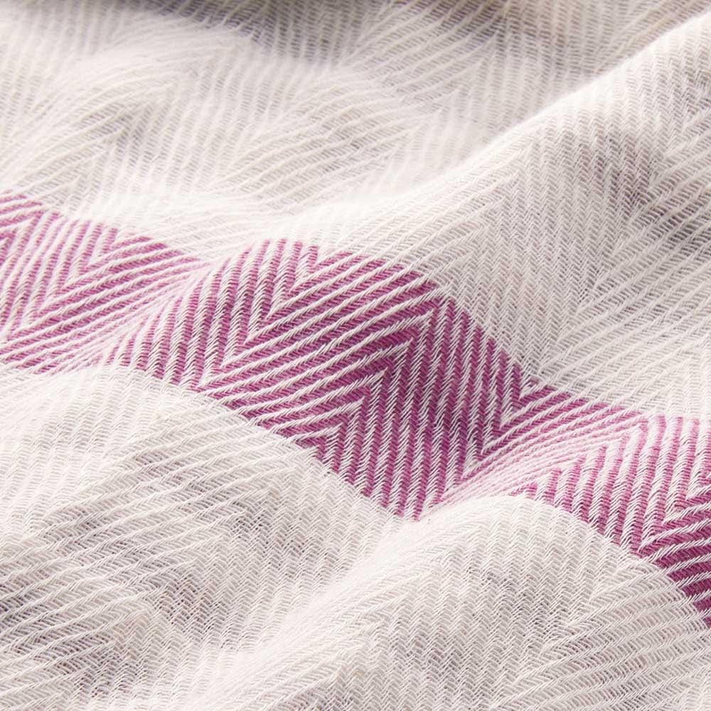 ふんわり とろける肌触り 魅惑の五重ガーゼケット 色が選べるお得なシングル2枚組 ふっくらやわらかな風合いはもちろん、地模様は高級感のあるヘリンボーン織のディノス企画デザイン。細部までこだわった仕立てです。