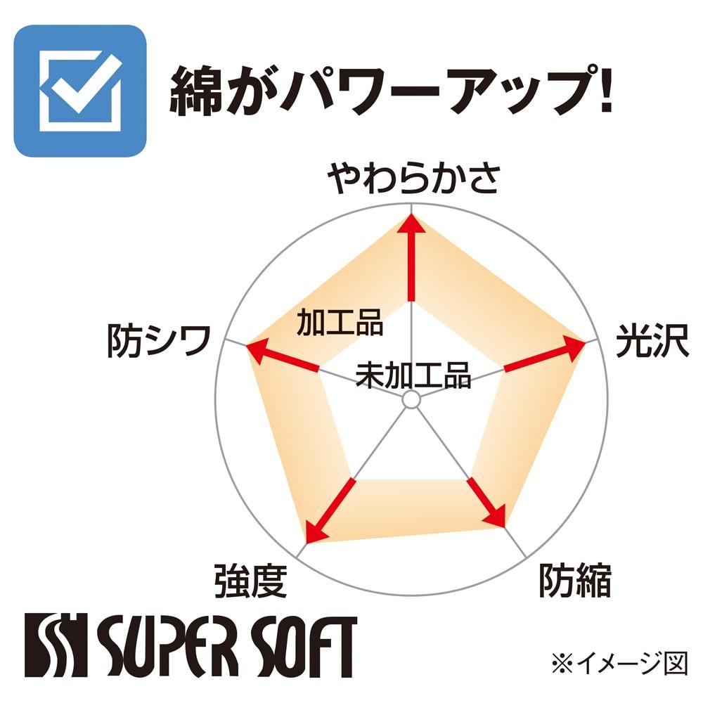 スーパーソフト加工 掛け布団カバー 柄タイプ
