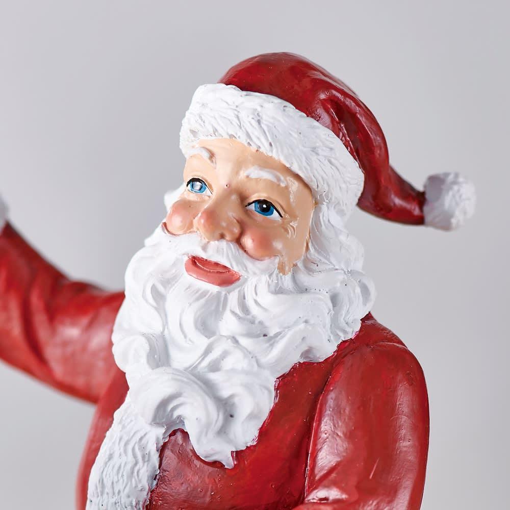 クリスマスオルゴール Toyサンタ やさしい表情のサンタクロース。