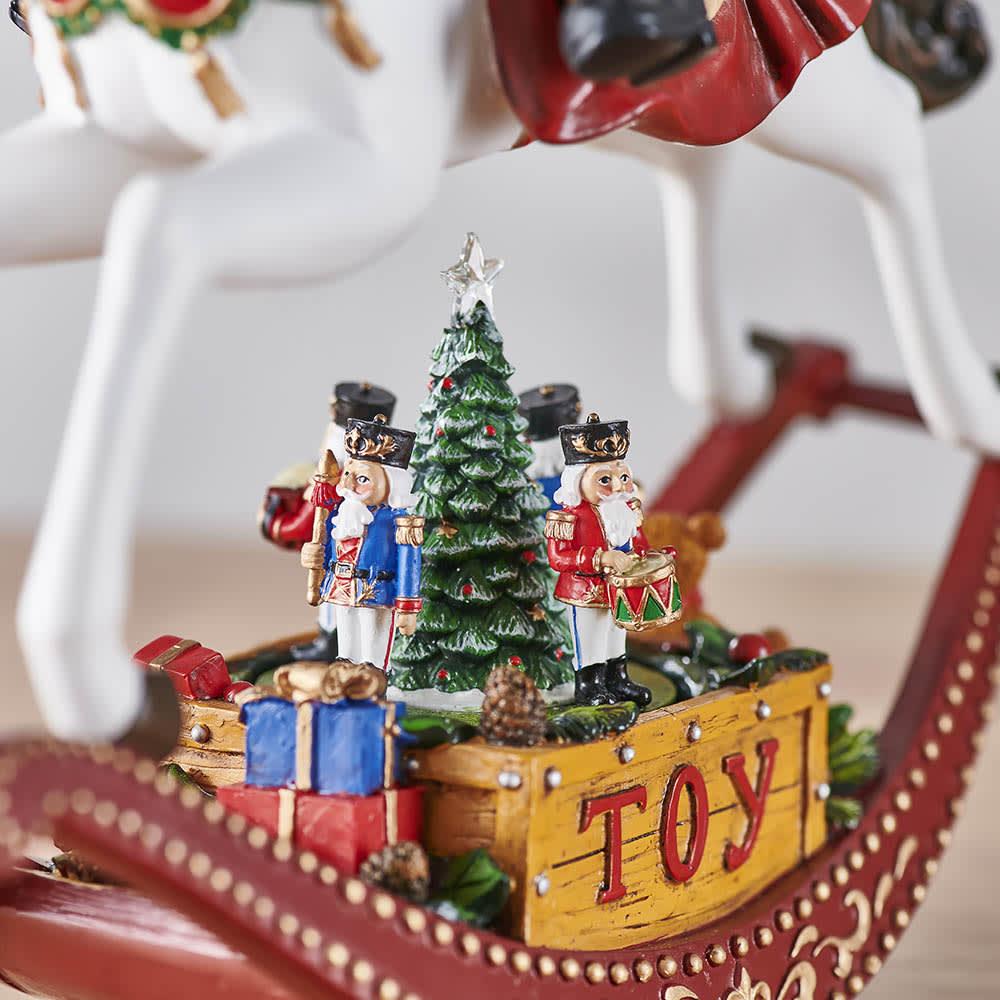 クリスマスオルゴール Toyサンタ